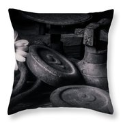 221 Throw Pillow
