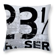 23 1/2 Hour Service Throw Pillow