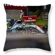 Formula 1 Monza Throw Pillow