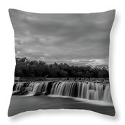 Grand Falls Waterfall Throw Pillow