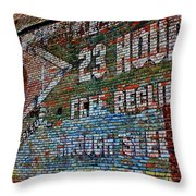 23 Hours Throw Pillow