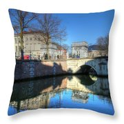 Mechelen Belgium Throw Pillow