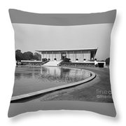 American Embassy New Delhi India Throw Pillow
