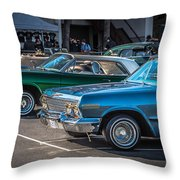 Sf Low Riders Throw Pillow