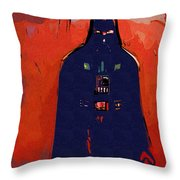 Star Wars At Art Throw Pillow