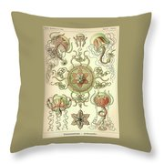 Vintage Zoological Throw Pillow