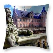 Zealand Denmark Throw Pillow
