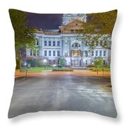 2300 At The Green Bay Courthouse Throw Pillow