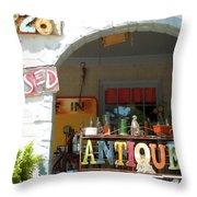 2328 Closed Throw Pillow