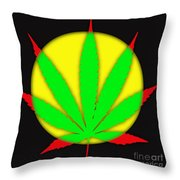 Cannabis 420 Collection Throw Pillow