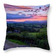 Landscape Az Throw Pillow