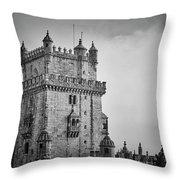 Lisbon Portugal Throw Pillow