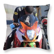 Man Cup 08 2016 By Jt Throw Pillow