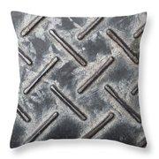 Metal Background Throw Pillow