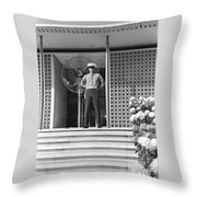 American Embassy New Delhi India Throw Pillow