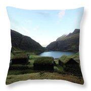 The Faroe Islands  Throw Pillow