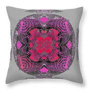 2450 Mandala 2017 Throw Pillow