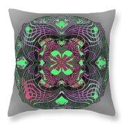 2451 Mandala A Throw Pillow