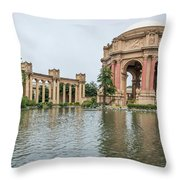 2464- Palace Of Fine Arts Throw Pillow