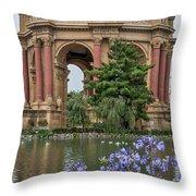 2482- Palace Of Fine Arts Throw Pillow