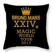 24k Magic Throw Pillow