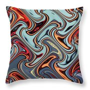 24th Street Tall Building Phoenix #3 Throw Pillow