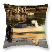 Down East Maine  Throw Pillow