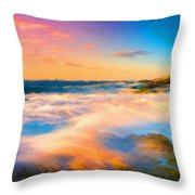 Landscape N More Throw Pillow