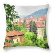 Praha Throw Pillow
