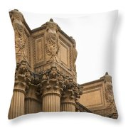 2511- Palace Of Fine Arts Throw Pillow