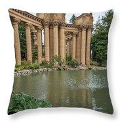 2515- Palace Of Fine Arts Throw Pillow