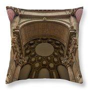 2520- Palace Of Fine Arts Throw Pillow