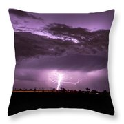 6th Storm Chase 2015 Throw Pillow