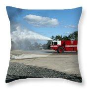 Firefighting Throw Pillow