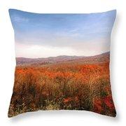 Great Smoky Mountains National Park Throw Pillow