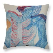 St Michael The Archangel Throw Pillow