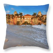 26- Valet Parking Available Throw Pillow