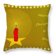 2610 Merry Christmas To You 2018 Throw Pillow