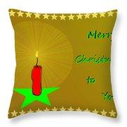 2611 Merry Christmas To You 2018 Throw Pillow