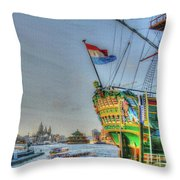 264 Amsterdam Throw Pillow