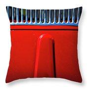 2674- Red Volkswagen  Throw Pillow