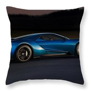 269243 Car Ford Gt Race Tracks Throw Pillow