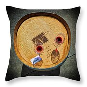 2698- Mauritson Wines Throw Pillow