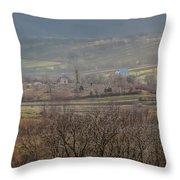Land Of Ukraine Throw Pillow