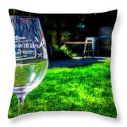 2719- Mauritson Wines Throw Pillow