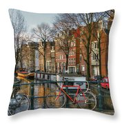 274 Amsterdam Throw Pillow