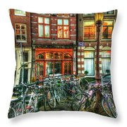 276 Amsterdam Throw Pillow