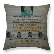 Bogota Museo Historico Policia Throw Pillow