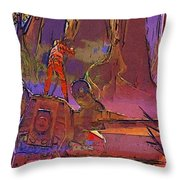 Star Wars The Trilogy Poster Throw Pillow