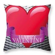 Valentines Throw Pillow